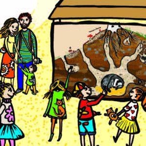 plakát Slavnostní otevření Rodinné naučné stezky na Klucanině