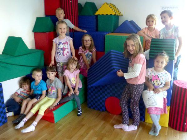 Příměstský tábor - děti na kostkách