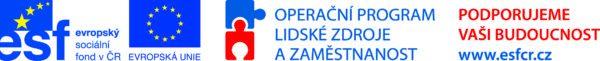 ESF ČR Operační program Lidské zdroje a zaměstnanost