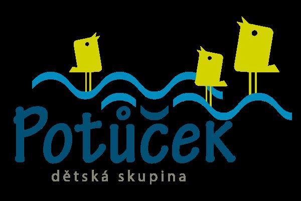 logo dětská skupina Potůček