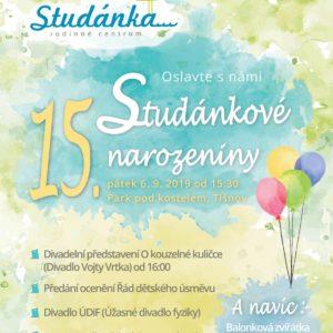 Studánkové narozeniny plakát