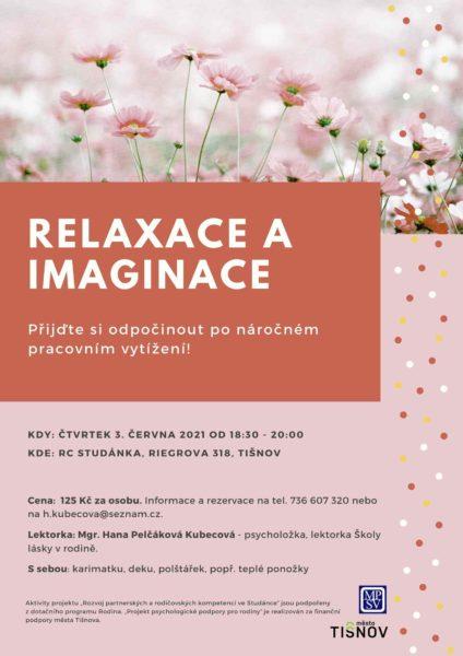 Plakát akce: Relaxace a imaginace